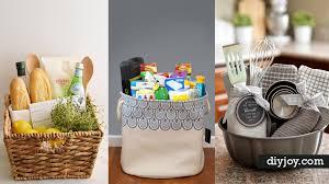 housewarming basket 33 best diy housewarming gifts diy