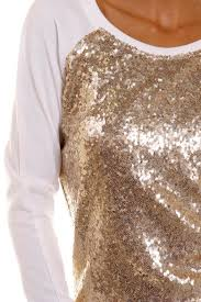 Gold Sequin Cardigan Xtaren Gold Sequin Sweater From Texas By White Flowers Boutique