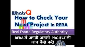 want to buy a house here is to check rera compliant project