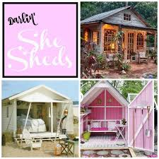 Shed Backyard The Most Darling She Sheds Backyard Dream Spaces For Women