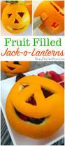 fruit filled jack o lanterns halloween snack idea