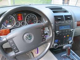 volkswagen touareg interior volkswagen touareg 2004 interior image 135