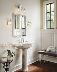 bath lighting kichler lighting 4 light bryant chrome bathroom vanity light