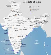 Bhopal India Map by Indian Airports Map