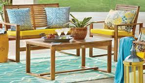 Patio Furniture Materials Guide Wayfair - Yellow patio furniture