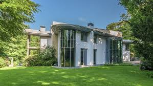 frank lloyd wright inspired home with lush landscaping frank lloyd wright inspired mansion for sale in the netherlands
