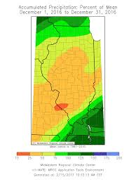 Illinois Flooding Map by Spring Flood Outlook