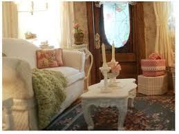 Shabby Chic Dollhouse by 145 Best Dollhouse Living Rooms 1 Images On Pinterest Miniature