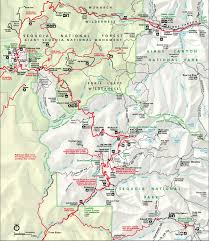 Sequoia National Park Map Map Kings Canyon Sequoia National Park Maps Sequoia U0026 Kings