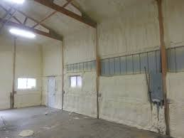 pole barns kc spray foam insulation
