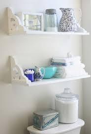 wonderful bathroom shelf shelves decorating ideas youtube on