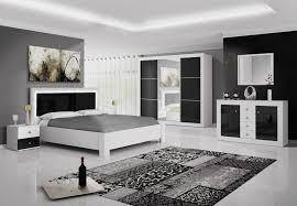 ensemble chambre complete adulte santos laque noir et argent ensemble chambre a coucher avec santos