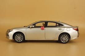 lexus diecast models 1 18 lexus es 300h gold color diecast model gift