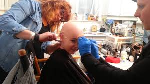 professional bald cap bald cap removal on a 4 year talented martin