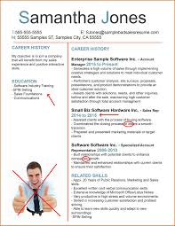 Bad Resume Samples by Examples Of A Good And Bad Resume Templates