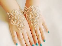 hand bracelet jewelry images Diy hand flower and slave bracelet jewelry things upto you jpg