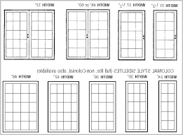 Sliding Patio Door Dimensions Patio Doors Sizes Mbtshoeswomen Us