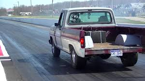 Old Ford Truck Beds - f100 drag truck youtube