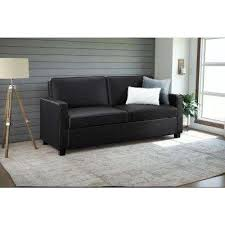 Black Sofa Bed Sofa Bed Sofas Loveseats Living Room Furniture The Home Depot