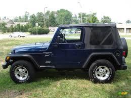 patriot jeep blue 2001 jeep wrangler sport 4x4 in patriot blue pearl 324784 all