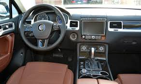 volkswagen touareg interior 2015 vw touareg is a solid suv for families wheels ca
