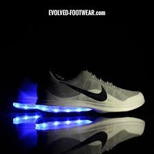 led lights shoes nike men s gray nike air max dynasty with led lights nike led light up