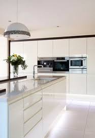 White Gloss Kitchen Ideas Extreme Contemporary Minimal High Gloss Kitchen Design In Private