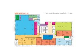 Ymca Floor Plan by Ywca Brooklyn Louise Braverman Architectlouise Braverman Architect