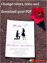 Engagement Invitation Cards Designs Card Invites Paperinvite