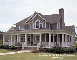 wrap around front porch house plans with wide front porch homes zone