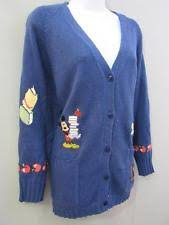 disney mickey mouse s cardigan sweaters ebay