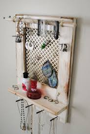 Jewelry Wall Hanger 45 Best Jewelry Organizers From Mrandmissis Images On Pinterest