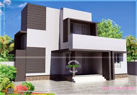 simple modern house square meter kerala home design floor home