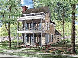narrow lot lake house plans sparkling lake plantation home plan 055d 0277 house plans and more