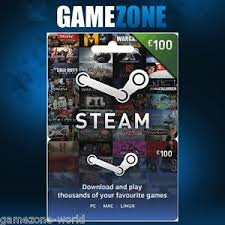 gift cards for steam 100 steam gift card 100 gbp pounds uk steam wallet digital prepaid