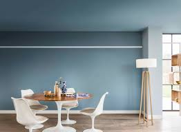 Dining Room Paint Colors 2017 by Denim Drift Is Dulux Colour Of The Year 2017 Front Rooms Small