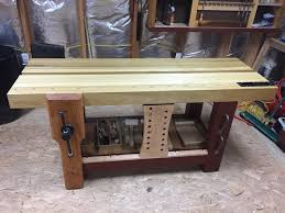 split top roubo workbench by luis m lumberjocks com
