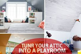 Turn The Attic Into A Perfect Play Area For The Kids - Bedroom play ideas