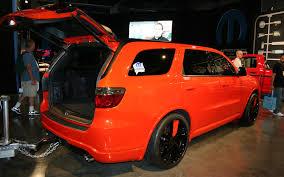dodge durango tow hook sema 2011 motor trend