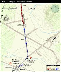 Battle Of Gettysburg Map Fairfield Part 1 With Authors J D Petruzzi And Steve Stanley