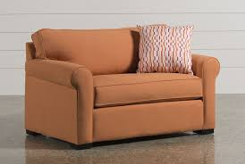 sofa with twin sleeper mia memory foam full sleeper living spaces