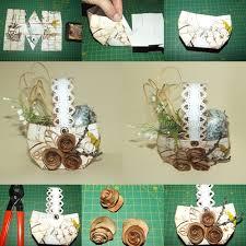 vintage easter baskets vintage easter paper basket