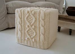 Etsy Ottoman Eclectic Ottomans And Cubes By Etsy Inside Pinterest