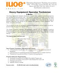 field service technician resume sample cover letter resume for heavy equipment operator resume examples cover letter cnc machine operator resume sample job objective petroleum agriculture environment standardresume for heavy equipment