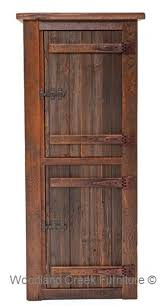 linen cabinet tower 18 wide rustic linen cabinet by woodland creek furniture available any size