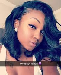african american hairstyles with parts down the middle bob with bangs hairstyles lace front wigs for african american
