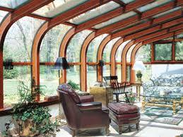 solarium sunroom curved wood solarium sun room curved wood woods