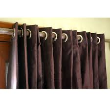 deep plum silk curtain 52x84 grommet drapes home