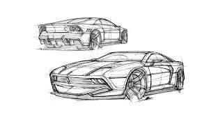 ferrari laferrari sketch would you like the ferrari 288 gto to come back as this