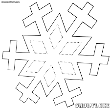 snowflake coloring pages coloring pages to download and print